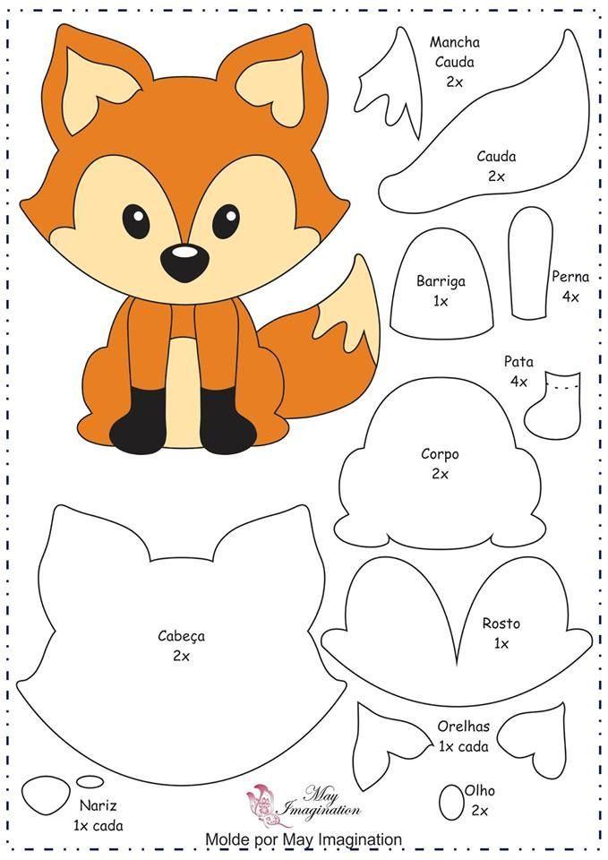 Fuchs Vorlage Source: media-cache-ak0.pinimg.com