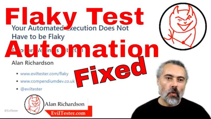 Your Automated Execution Does Not Have to be Flaky - ukstar live Test Automation Webinar https://youtu.be/KiUaJzdE64U