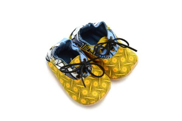 New lace up trainers in our African range.