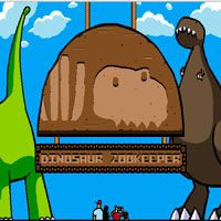 Игра Зоопарк динозавров