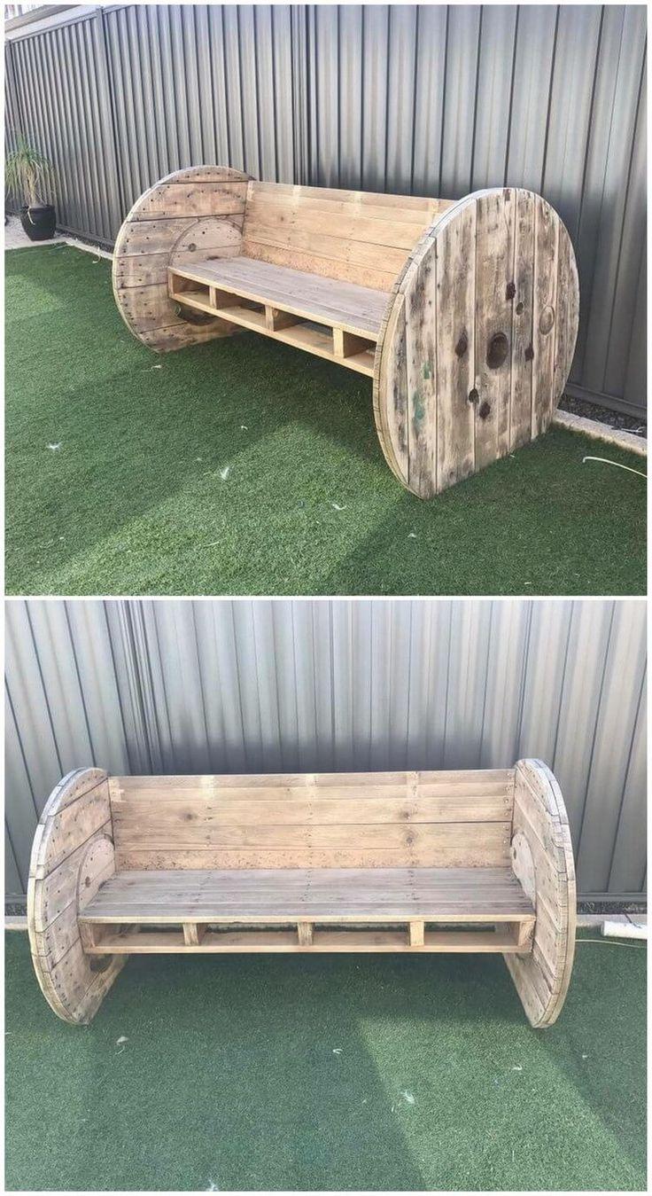 Creative DIY wooden pallets reusing ideas