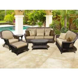 Georgetown Deep Seating Wicker Patio Furniture By Chicago Wicker U0026 North  Cape