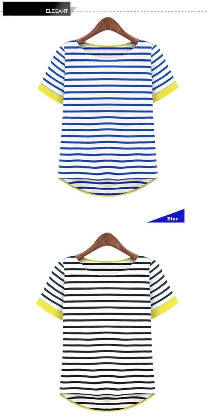 Новые женщины топы о образным шею футболка с коротким рукавом полосатые футболки тройники Blusas Femininas бесплатная доставка ml XL XXL XXXL XXXXL Большой размер купить на AliExpress