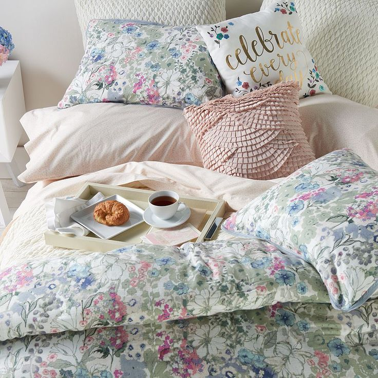 LC Lauren Conrad Wildflower Duvet Cover Collection | Available at Kohls.com