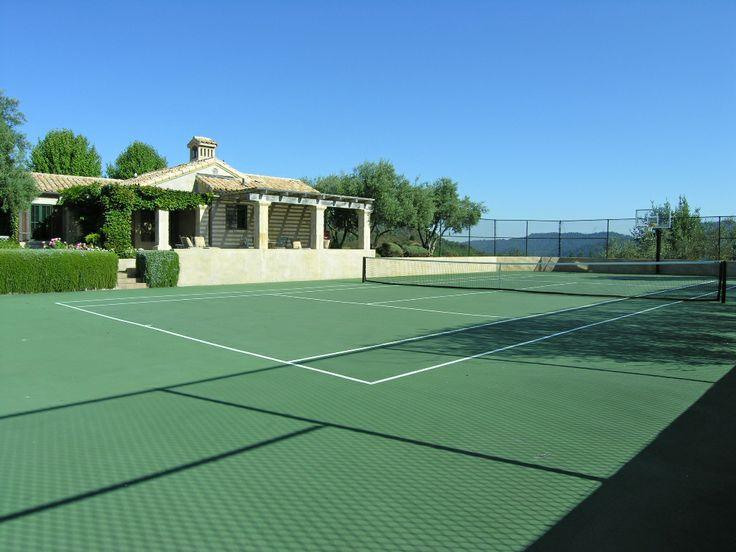 The courts #tenniscourt #LatifeHayson