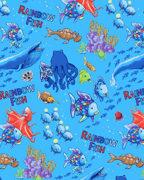 25 best images about rainbow fish on pinterest sea for Rainbow fish and the big blue whale