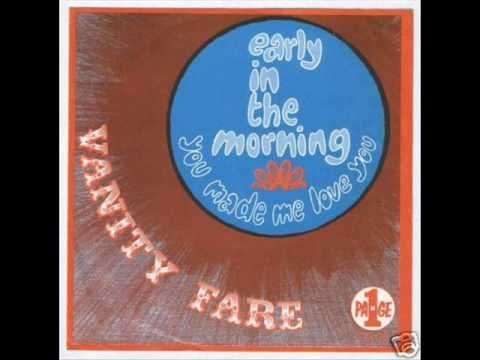 British group Vanity Fare reached #16 in UK & #5 in USA with Hitchin` A Ride in 1970.    1968 I Live for the Sun   1968 Summer Morning  1969 Highway of Dreams  1969 Early In The Morning   1969 Hitchin' a Ride  1970 Come Tomorrow   1970 Carolina's Coming Home   1971 Where Did All the Good Times Go?   1971 Our Own Way Of Living  1972 Better By Far...