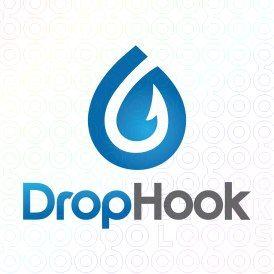 Exclusive Customizable Logo For Sale: Drop Hook | StockLogos.com https://stocklogos.com/logo/drop-hook