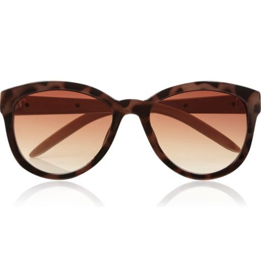 Brown tortoise shell oversized sunglasses #riverisland #bloggerstyle