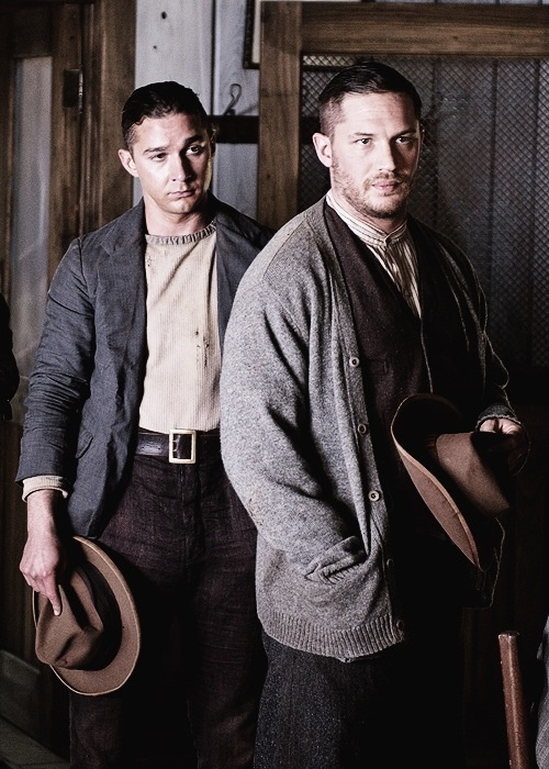 Shia LeBeouf and Tom Hardy in Lawless. Can i marry two men?