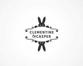 This plays with your first design. I like the Font (which might be similar to the one you used already), why not use cupcakes/food elements (carrots?) sticking out at the top instead of the bunny ears