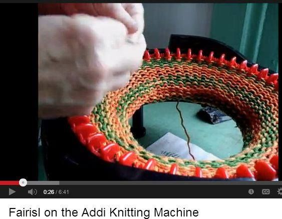 Knitting Loom Machine : Best oppskrifter til prym maxi strikkemølle