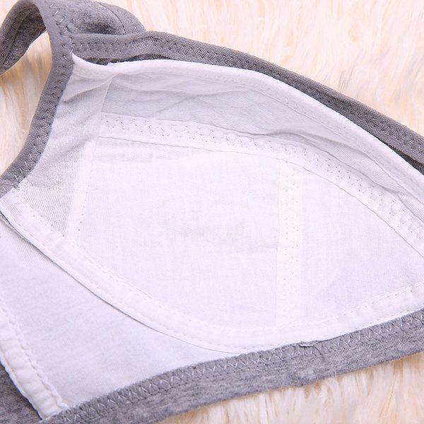 Sexy Deep Plunge Soft Cotton Front Open Wireless Nursing Bras