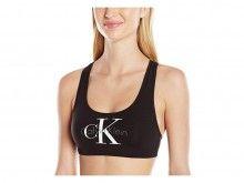 Calvin Klein černá podprsenka Bralette Lightly Lined - 1030 Kč