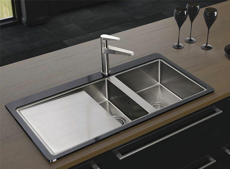 Astracast Kitchen Sinks 13 best designed by astracast images on pinterest sink taps bluci kubevetro black glass 15 bowl kitchen sink workwithnaturefo