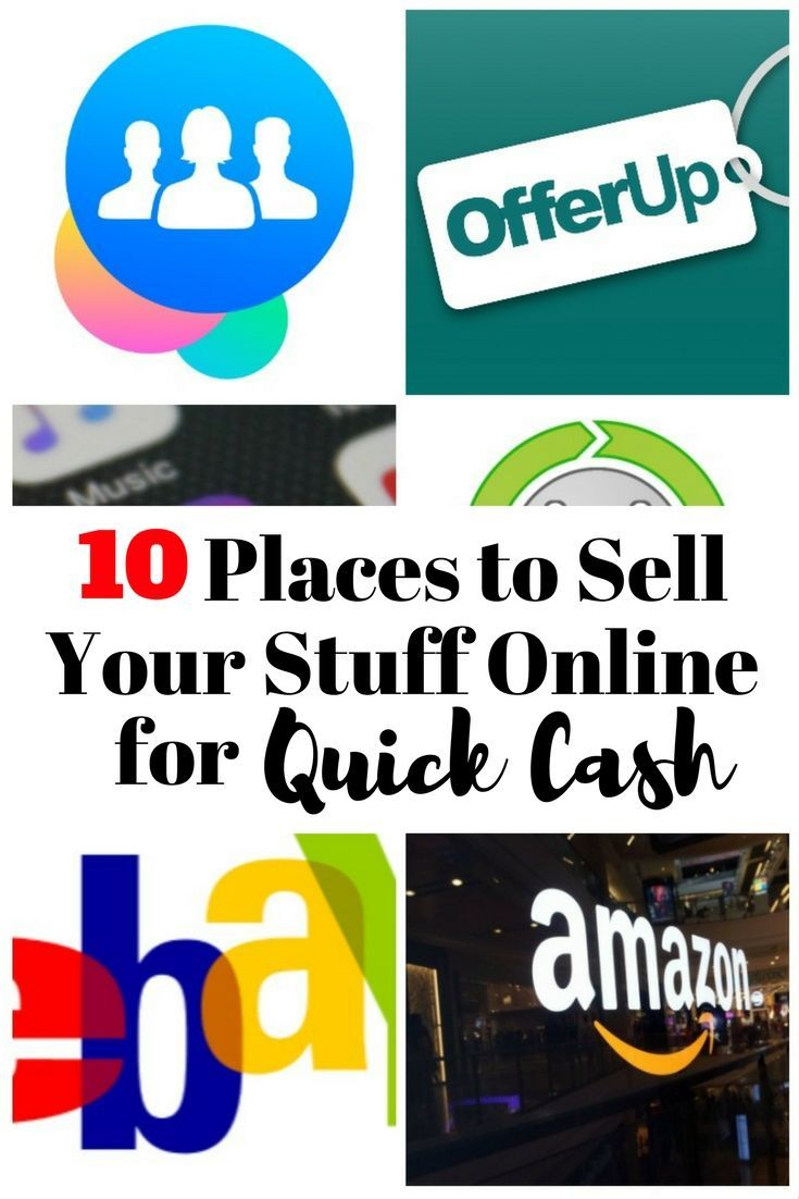 Simple Quick Cash Tips | How and Where To Sell Pre-Loved Items Online | Frugal & Thrifty Tips Ideas - http://TheBudgetDiet.com