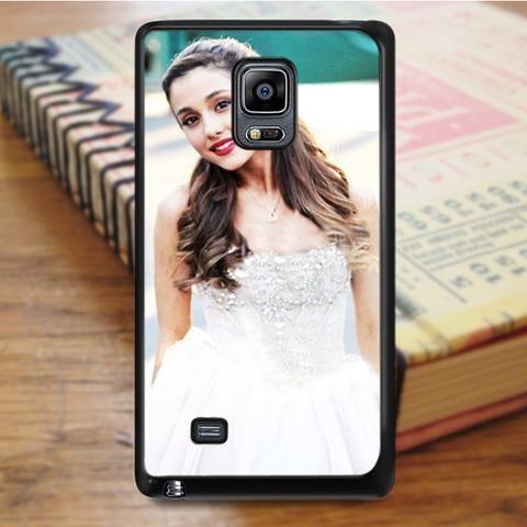 Ariana Grande Red Lips Samsung Galaxy Note Edge Case