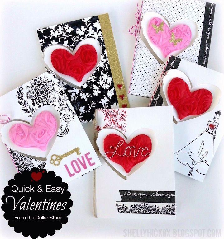 Easy Pop it Ups Dollar Tree Valentines