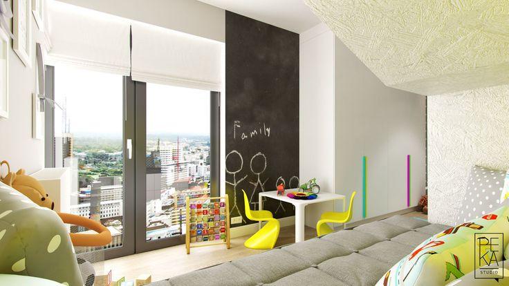 Kids room by PEKA STUDIO