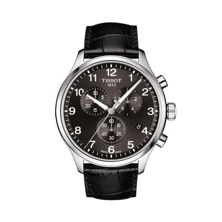 Ανδρικό ελβετικό quartz ρολόι του οίκου TISSOT, από τη συλλογή T-SPORT, μοντέλο CHRONO XL CLASSIC T116.617.16.057.00 Ένα σπορ ρολόι μαύρος χρονογράφος με ημερομηνία & λουρί. Ανδρικό ρολόι TISSOT CHRONO XL CLASSIC T1166171605700 με λουρί, χρονογράφος με μαύρο καντράν | Ρολόγια TISSOT στο Χαλάνδρι ΤΣΑΛΔΑΡΗΣ #tissot #chronoxlclassic