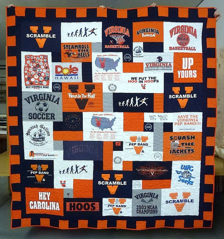 T Shirt Quilting Patterns : Best 25+ Shirt quilts ideas on Pinterest Memory quilts, Shirt quilt and Old tshirt quilt