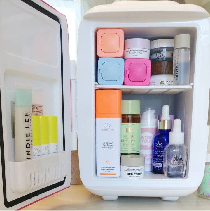 Skincare Mini Fridge Makeup Skin Care Skin Care Natural Hair Mask