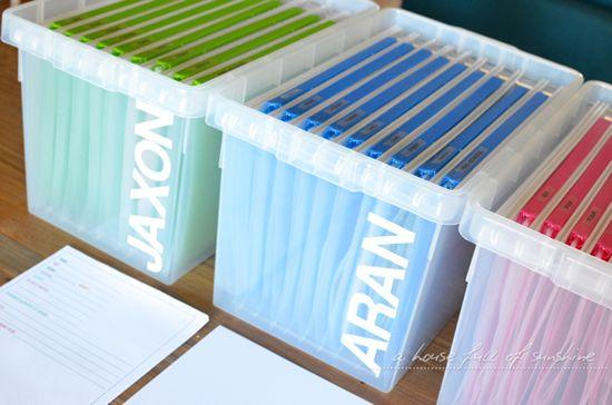 Creating a School Memory Bank
