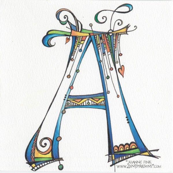 Zenspirations_Gallery_Monograms_3 full alphabet,