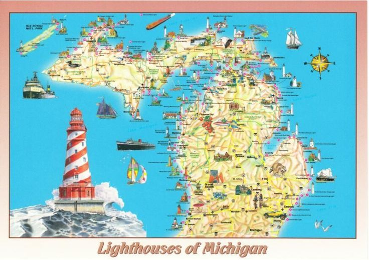 Image result for michigan lighthouses