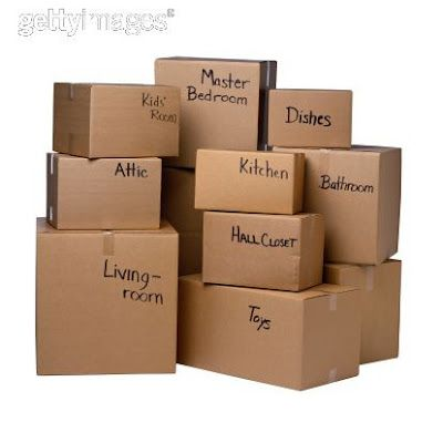 Moving - Military Style 10 tips from an Army Wife
