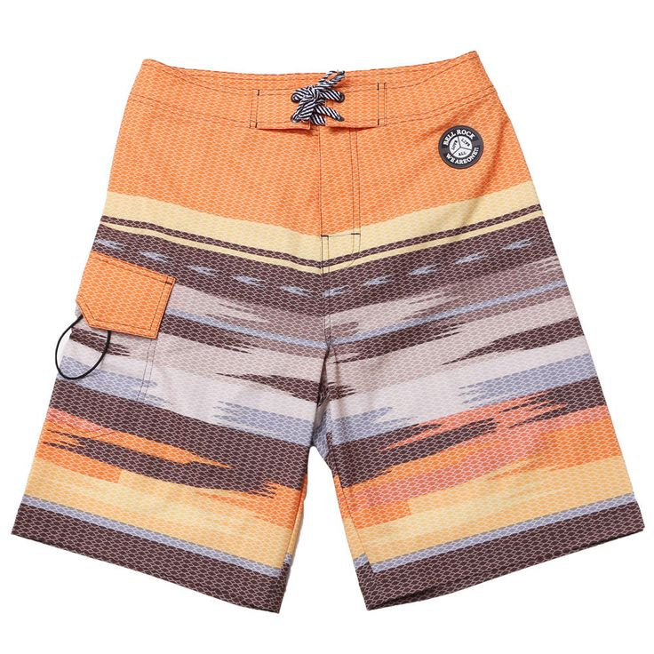 Swim Trunks Women's Board Shorts Swimming Beach Surf Casual Blue Gray Orange NWT #SAFS #BoardShorts