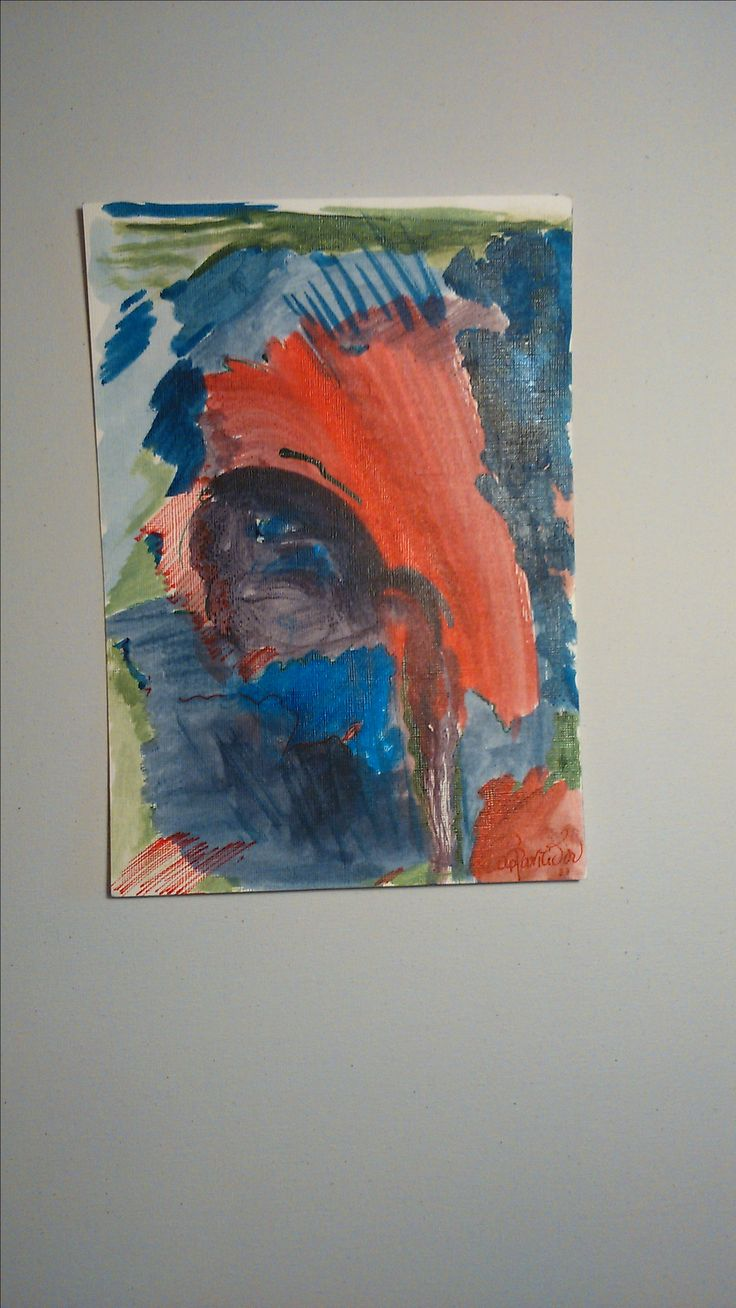 acrylic inks on paper