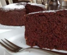 Decadent Chocolate Beetroot Cake  200 g beetroot, peeled and roughly chopped  200 g dark chocolate, broken into pieces 120 g Butter, roughly chopped 200 g self-raising flour  100 g raw sugar  1 teaspoon baking powder  3 eggs  1 teaspoon vanilla  20 g cocoa powder