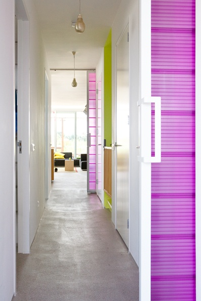 Colorfull house. One of a series of interior photo's in a house in Amsterdam. Photography by Jansje Klazinga JKF®