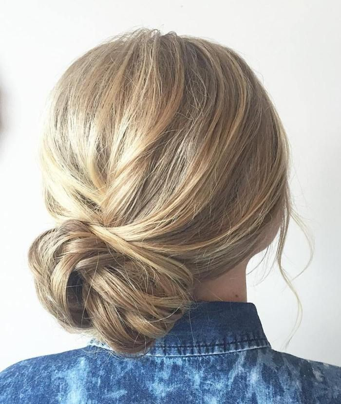 Prom Hairstyles For Thin Hair: 17 Best Ideas About Side Bun Updo On Pinterest