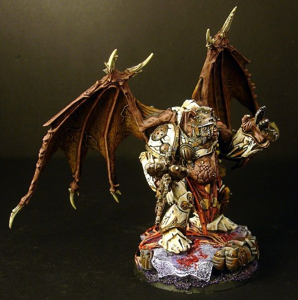 PAINTED 40K: Yr'ghurarch the Immaculate, Daemon Prince of Nurgle, Painted by Jimmy Grill
