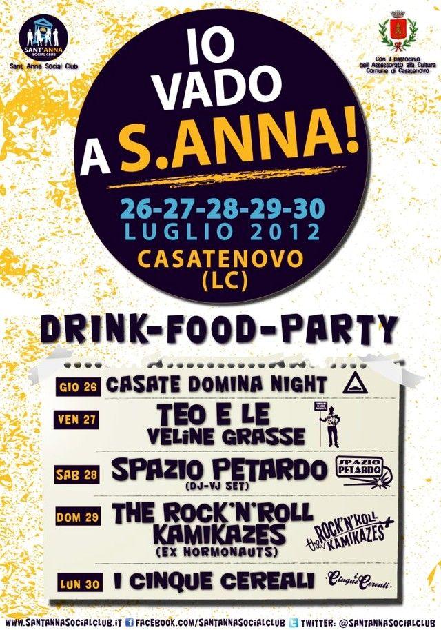 Festa di Sant'Anna 2012: un evento indicibile