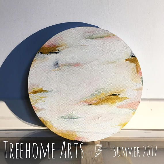 NEW for Summer 2017 Original Minimalist Abstract by Treehome Arts