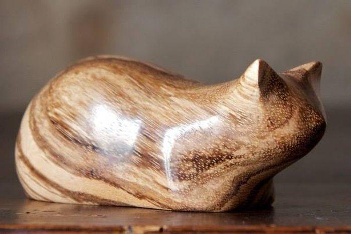 Домашний кот. Автор: Рerry Lancaster.