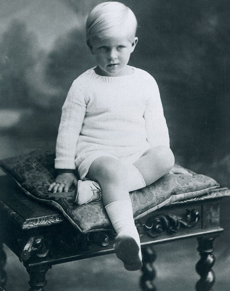 Prince Philip as a little boy