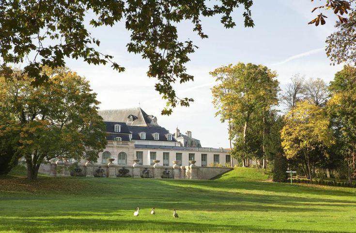 Facade Domaine De Chantilly | Auberge du Jeu de Paume - Chantilly