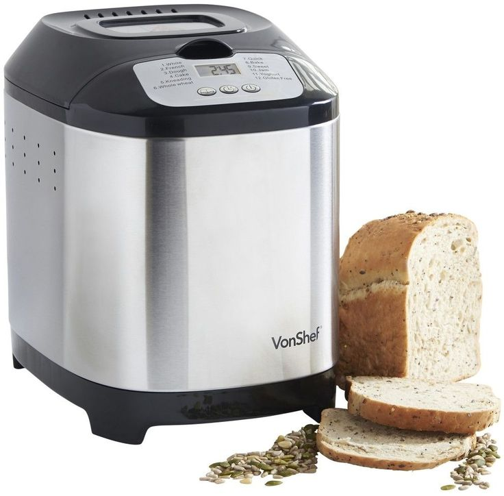 VonShef Digital Breadmaker    Make the Best this Wonderful Gift. At Luxury Home Brands WE always Find Great Stuff for you :)