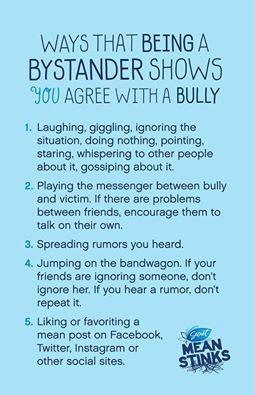 Bystanders & Bullying