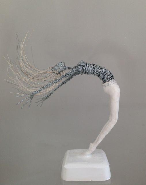 Rachel Ducker | Rachel Ducker Wire Sculpture                                                                                                                                                                                 More