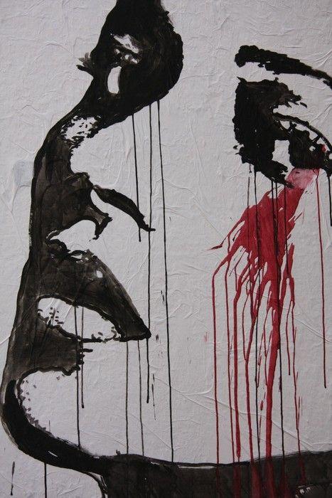 Face Graffiti Painting from $34.99 | www.wallartprints.com.au #GraffitiArt