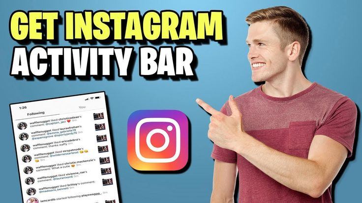 How to see following activity on instagram following