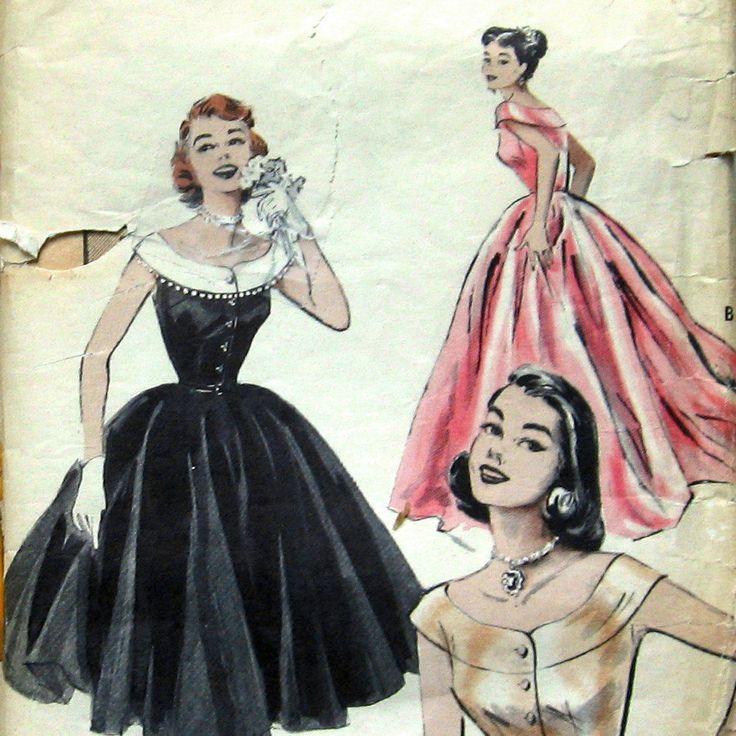 Vintage Prom Dresses Sketchprom Dressesdressesss