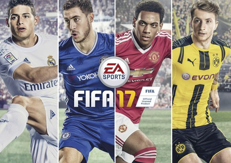 FIFA 17 and Spanish Pokémon Sol dominated sales in 2016 3DS FIFA 17 PC PS3 PS4 Vita Xbox 360 Xbox One