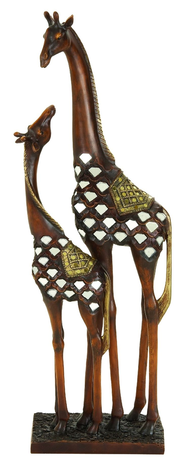 """Features:  Product Type: -Figurine.  Style: -Contemporary.  Theme: -Animal.  Subject: -Wild animals.  Finish: -Brown.  Age Group: -Adult. Dimensions:  Overall Height - Top to Bottom: -22"""".  Overall Wi"""
