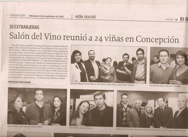 8 Salon del Vino Diario el Sur
